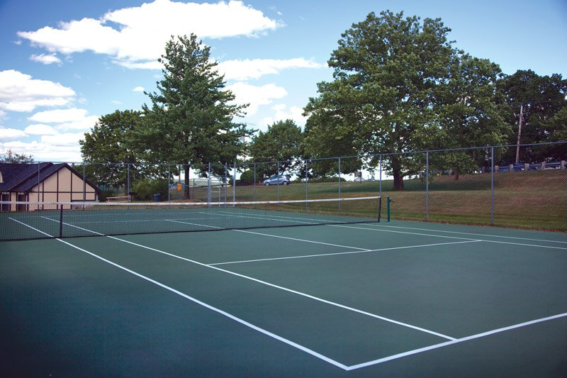 Tennis Courts: View Photos